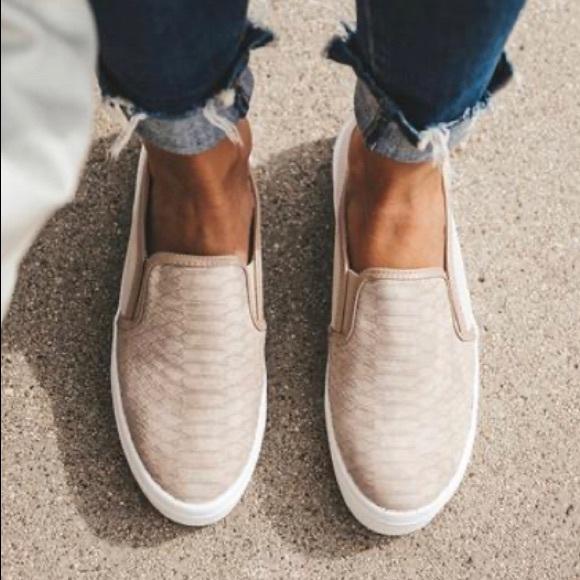CCOCCI Shoes   Taupe Peyton Snakeskin